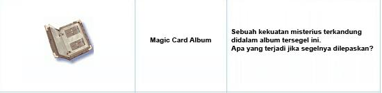 Event Special Magic Card Album [April] Mca